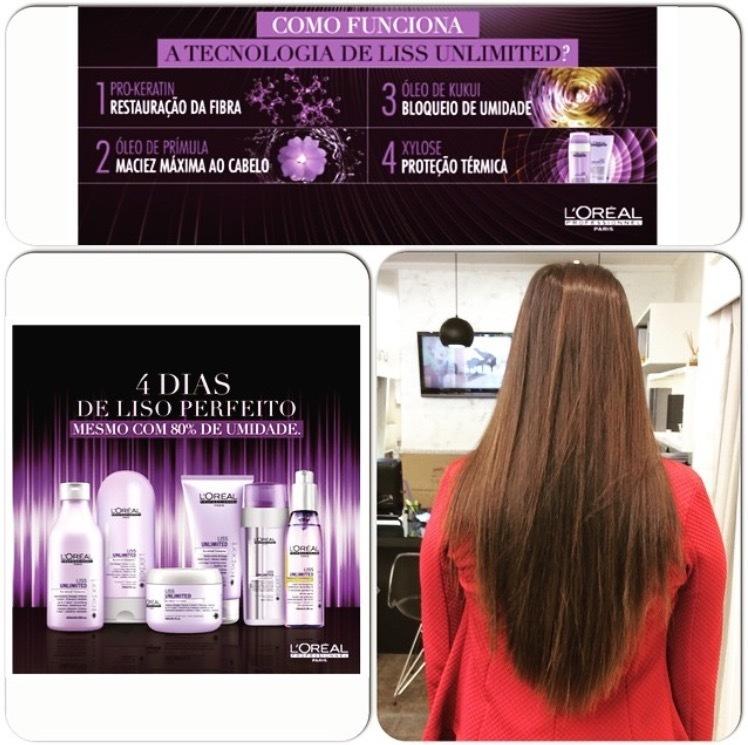 Tratamento de Verticalização Capilar, nutri e ainda dá um efeito liso de até 4 dias, tratamento excelente da linha da Loreal, eu recomendo! #nutriçãodosfios #pro-keratin #lisoperfeito #lisoabsoluto #Loreal cabelo cabeleireiro(a) auxiliar cabeleireiro(a)