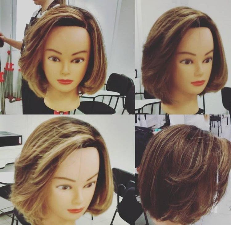 De corte Chanel para vocês! #dicasdabelinha #cabelos #diva #vida #isabelle.souzaa cabelo cabeleireiro(a) auxiliar cabeleireiro(a)
