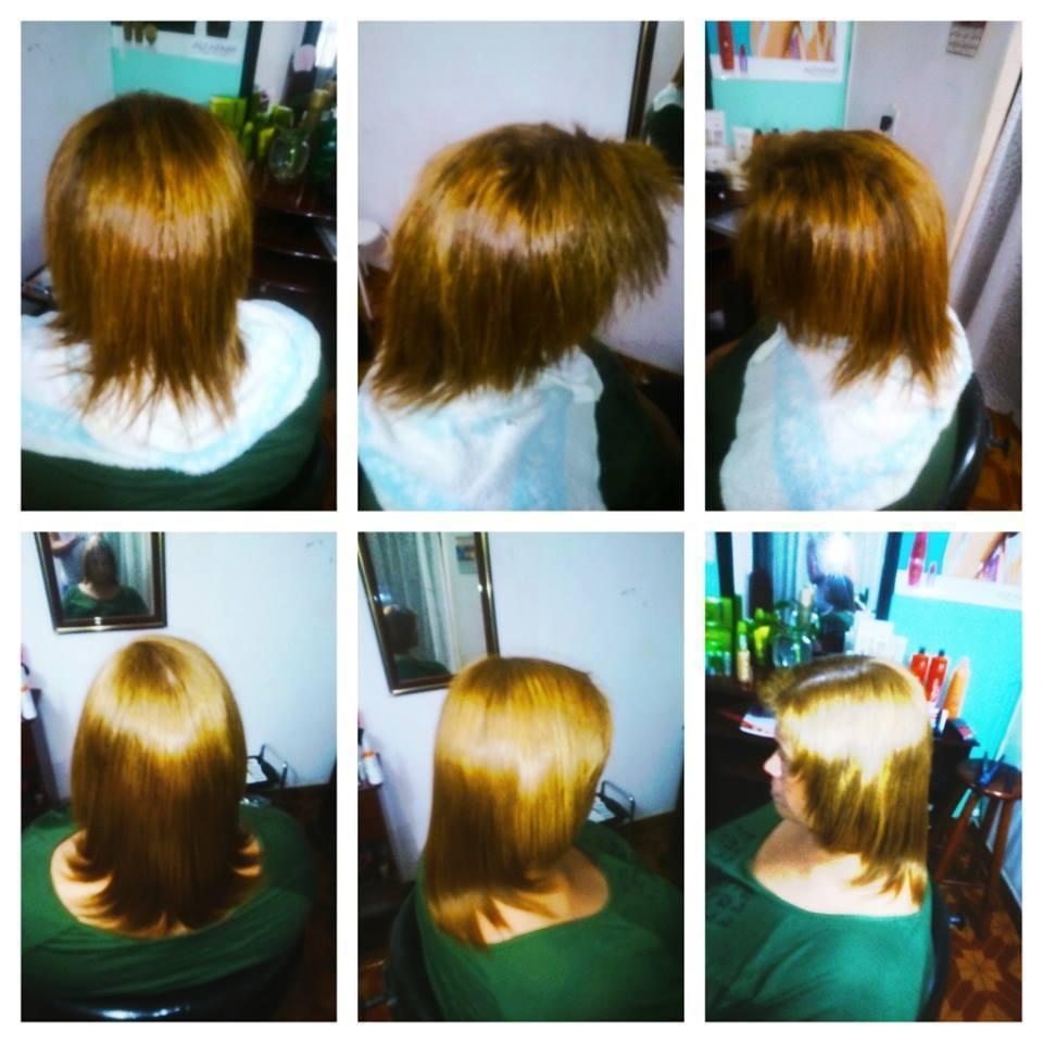 corte+cor+escova cabelo auxiliar cabeleireiro(a) cabeleireiro(a)