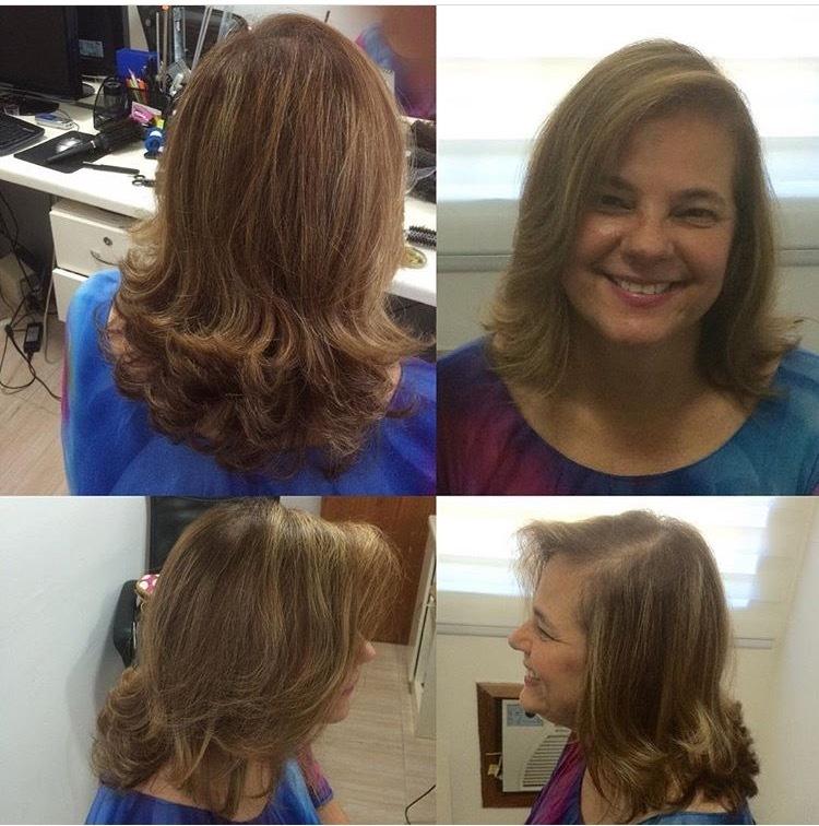 Mamãe adorou... 👌🏻💇🙆❤️. Nutrição profunda + corte + escova, linda 👏🏻👏🏻👏🏻👏🏻. #dicasdabelinha #nutricaopeofunda #corteemcamadas #perfect #vidaaoscabelos #divas #browncamurça #vidaaoscabelos #nutrir #colors #byisabellesouza #belinhaaaasouza #hairstyle #haircut #hairdresser cabelo cabeleireiro(a) auxiliar cabeleireiro(a)