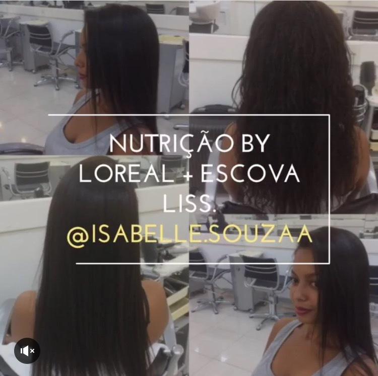 Nutrição Profunda by Loreal + escova liss, do jeito que a cliente gosta 👏🏻👏🏻👏🏻! @isabelle.souzaa 📌 #semporcaria 📌 #cabelodiva 📌 #amooquefaço📌 #musadiva 📌  #brownhair 📌 #negradiva📌 #detodasasformasdiva📌 #bylorealprofessionnel 📌  #clientesatisfeita📌 #vidaaoscabelos 📌  #quemnutreviradiva📌 #escovaliss 📌 cabelo cabeleireiro(a) auxiliar cabeleireiro(a)
