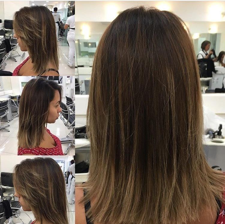 Ela só quis tirar a pontinha, manter com o liso despojado e fazer uma conexão na franja, na próxima  @andressadelbons vamos iluminar 😄 !  #corte✔️ #conexãocomafranja✔️ #hairstylist 💇🏻 #haircut ❤️ #hairstyle 💜 #diva❤️❤️ #dicasdabelinha #isabelle.souzaa #life❤️ #amo💯 cabelo cabeleireiro(a) auxiliar cabeleireiro(a)