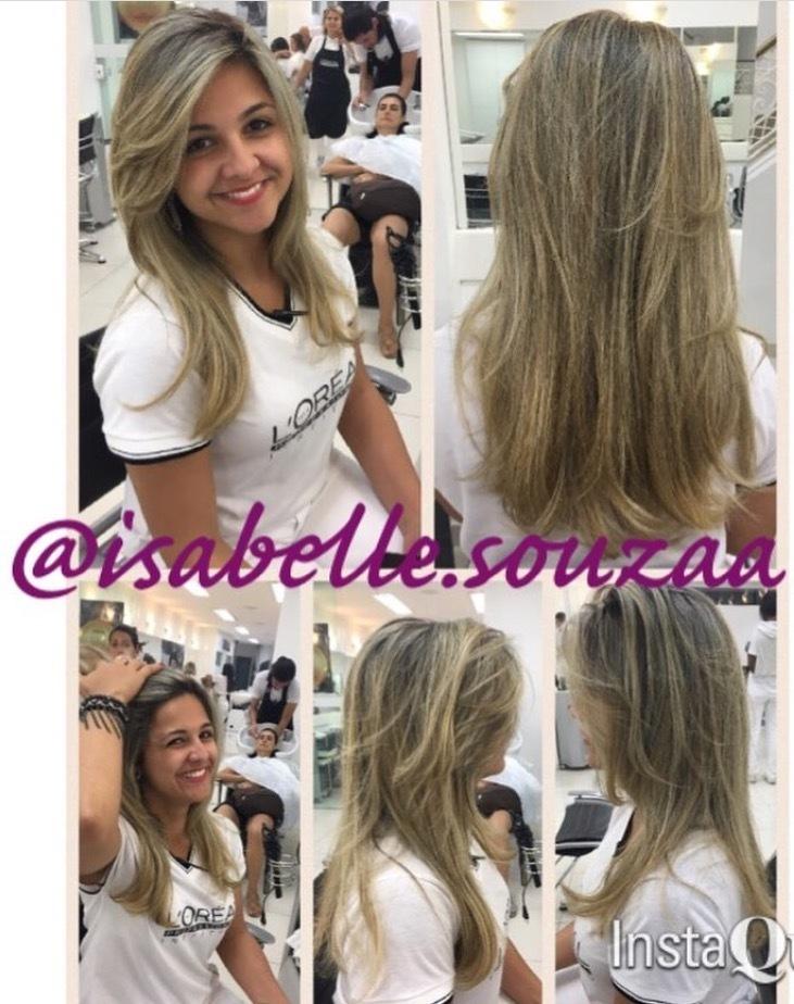 A linda @julia_muller12 fez uma maraaaavilhosa nutrição com o Absolut Repair Córtex Lipidium da Loreal, eu amo ❤️! 🙆🏻🙆🏻🙆🏻🙆🏻🙆🏻🙆🏻 #dicasdabelinha #hairstylist  #vidaaosfios👀  #hairstyle  #diva📢📢 #brilho💜  #lorealprofessionnel  #aquinosalao  #hairdresser  #nutrindonocortex #lipidios  #maravilhoso #fazadiferença✅ cabelo cabeleireiro(a) auxiliar cabeleireiro(a)