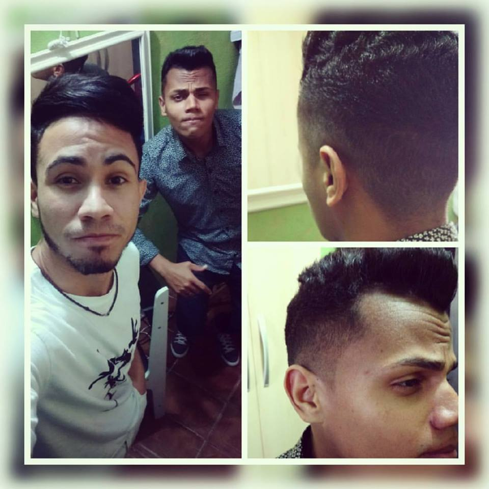 Corte de Cabelo Degradê  cabelo estudante (cabeleireiro)