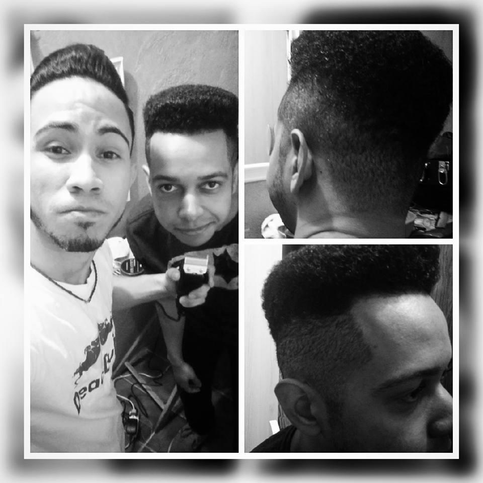 Corte de Cabelo Afro  cabelo estudante (cabeleireiro)