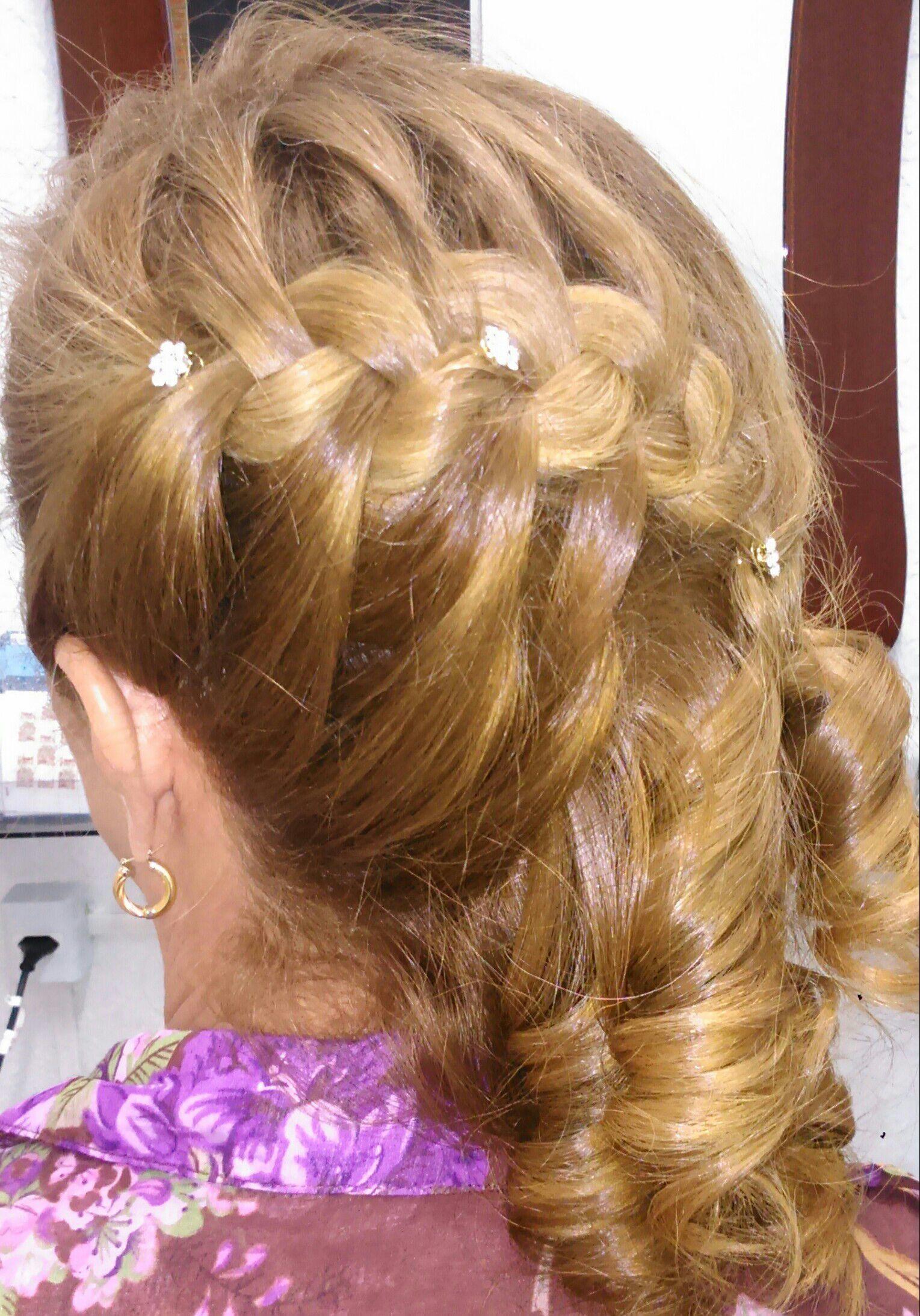 Trança cabelo