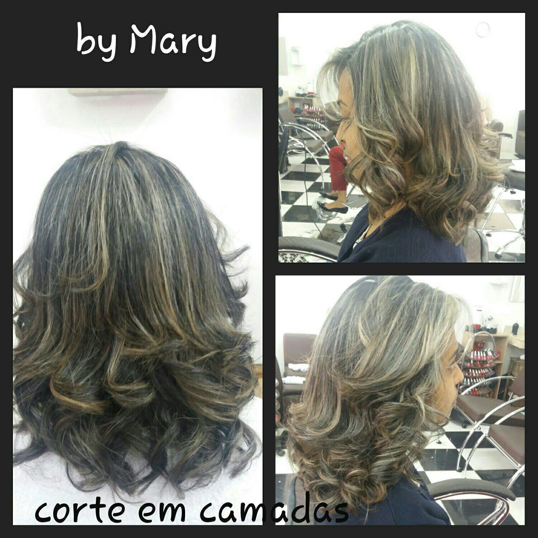 Corte e escova, a cor não foi produção minha. cabelo cabeleireiro(a)