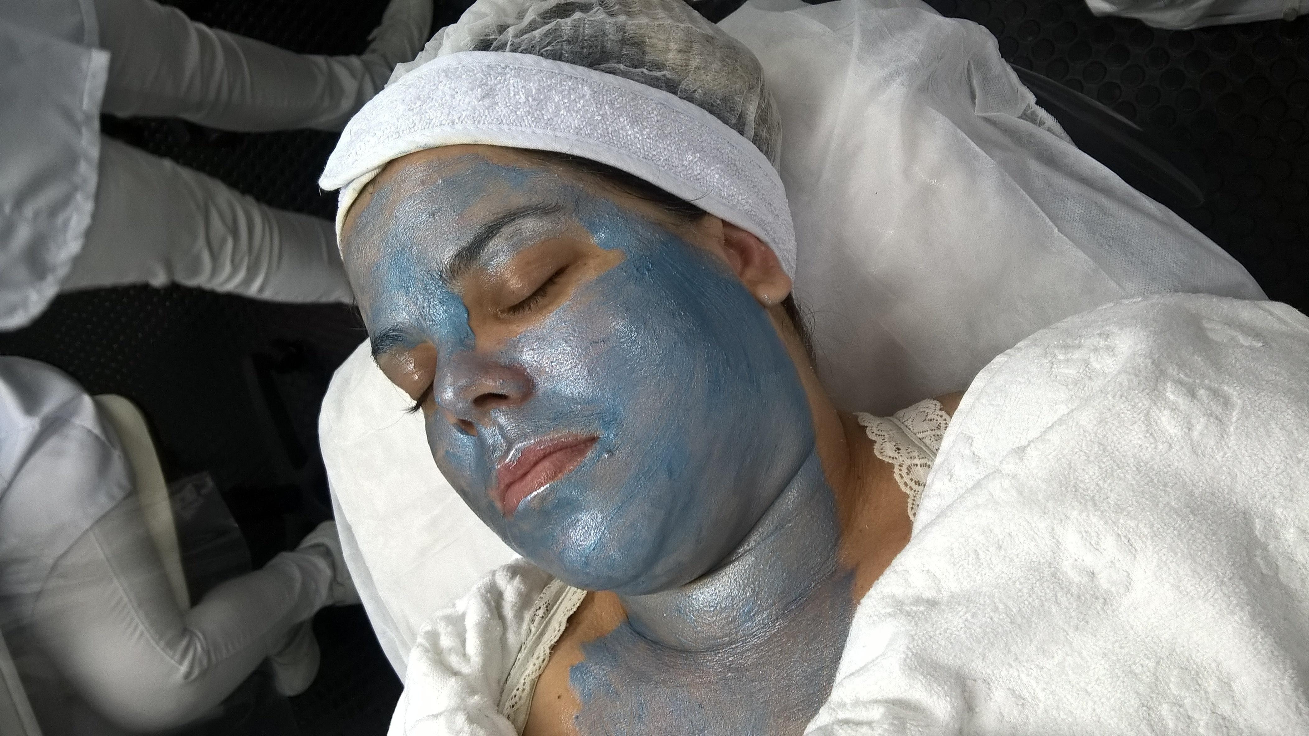 Hidratação Facial.. estética esteticista