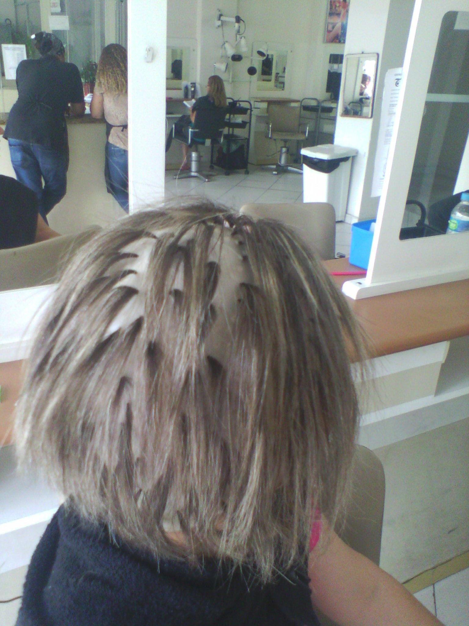 Luzes fase inicial cabelo cabeleireiro(a) barbeiro(a)