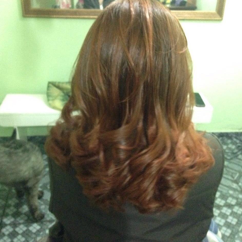 Retoque e tonalização de ruivo cabelo auxiliar cabeleireiro(a) cabeleireiro(a)