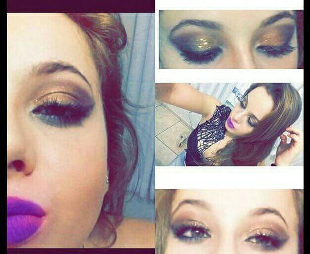maquiagem para festa gold linda demais ! maquiagem maquiador(a)