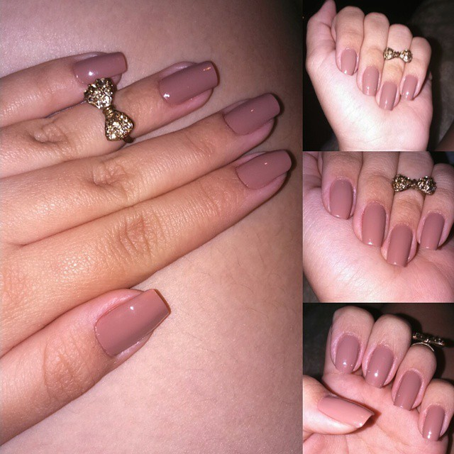Cliente satisfeita é cliente feliz ..... Nude a sensação do momento  unha manicure e pedicure depilador(a)