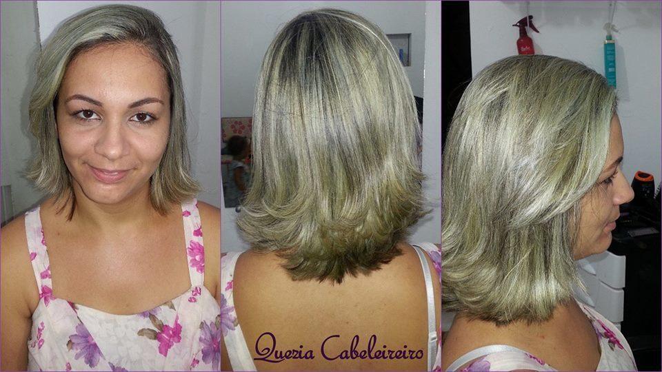 #QueziaCabeleireira #Luzes #Retoque #Corte cabelo cabeleireiro(a)
