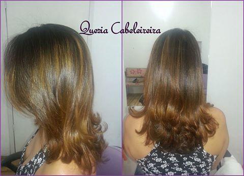 #QueziaCabeleireira #Iluminação #Corte #Escova cabelo cabeleireiro(a)