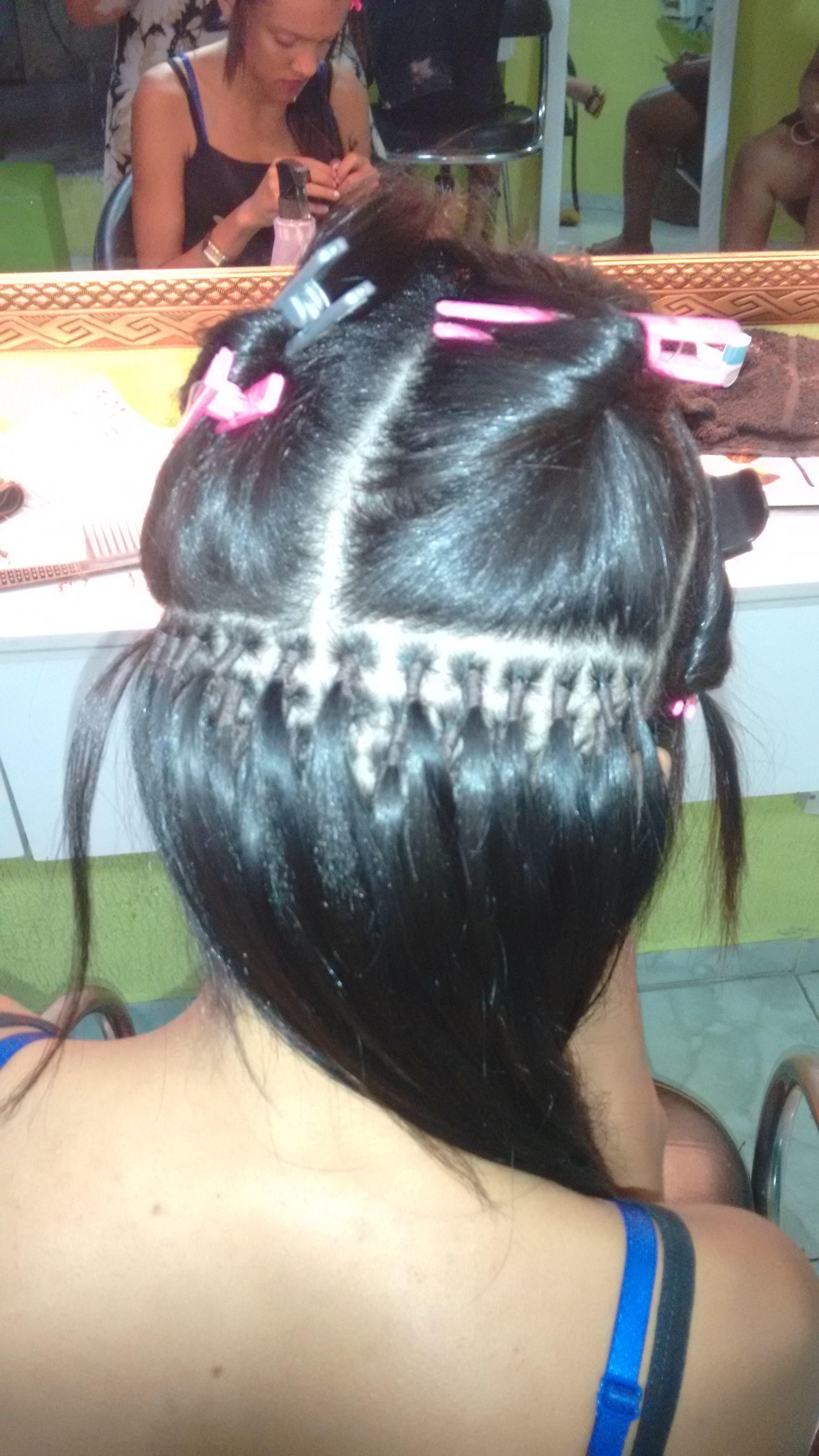 Mega em nó italiano  cabelo cabeleireiro(a)
