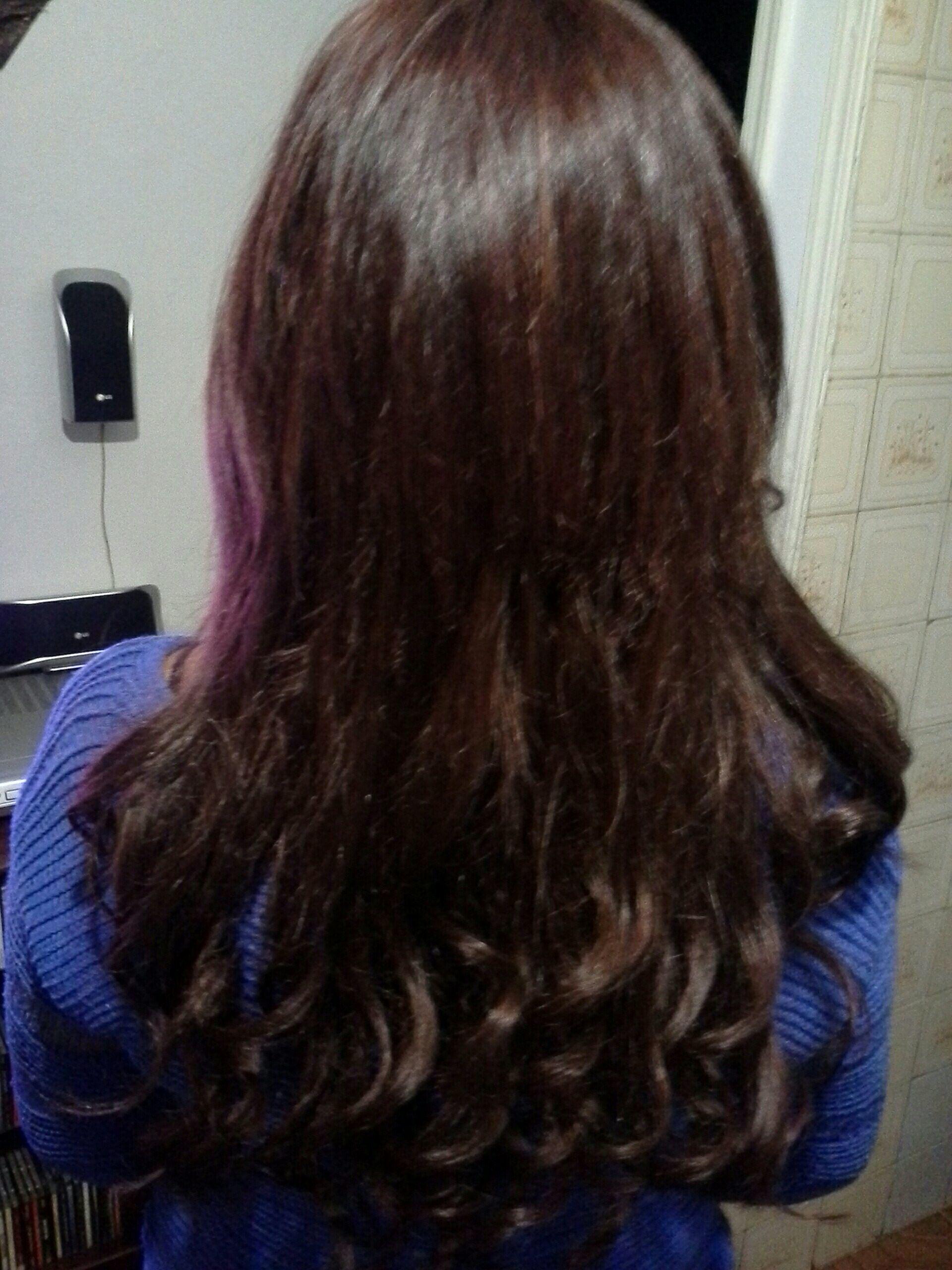 Alongamento  de cabelo, com  queratina e correção de  cor cabelo stylist / visagista cabeleireiro(a)