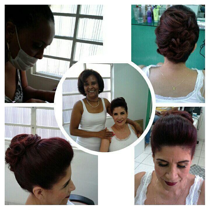 Penteado, maquiagem de festa cabelo stylist / visagista cabeleireiro(a)