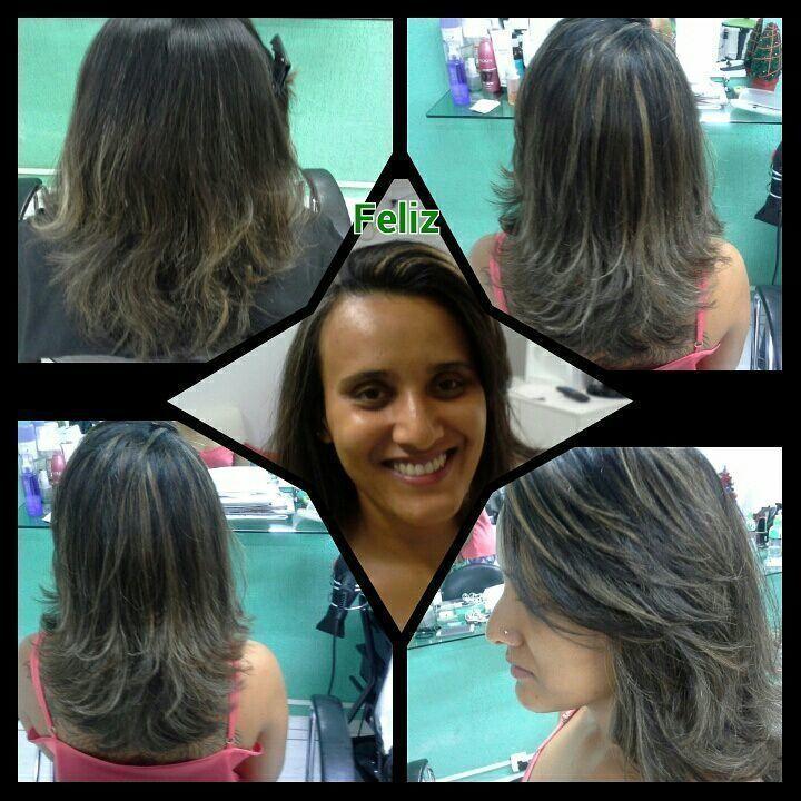 Relaxamento  , hidróxido de sódio e luzes cor de mel cabelo stylist / visagista cabeleireiro(a)