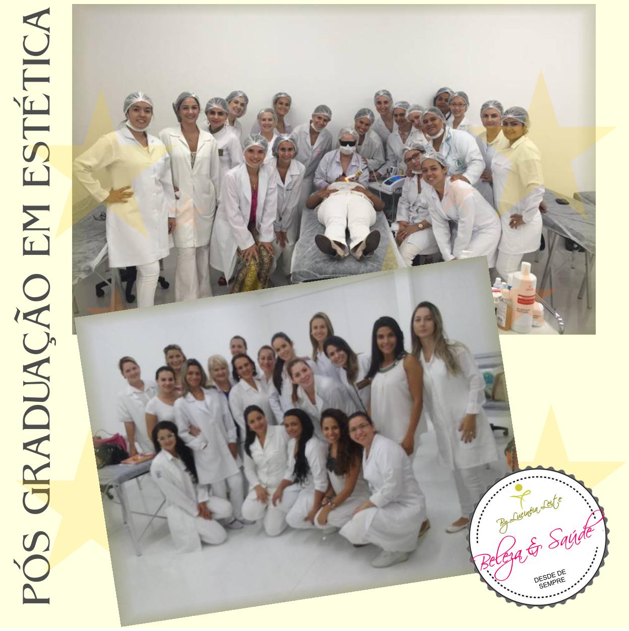 Aula sobre ortomolecular na estética para a turma da Póas Gradução em Estética de Campo Grande estética docente / professor(a)