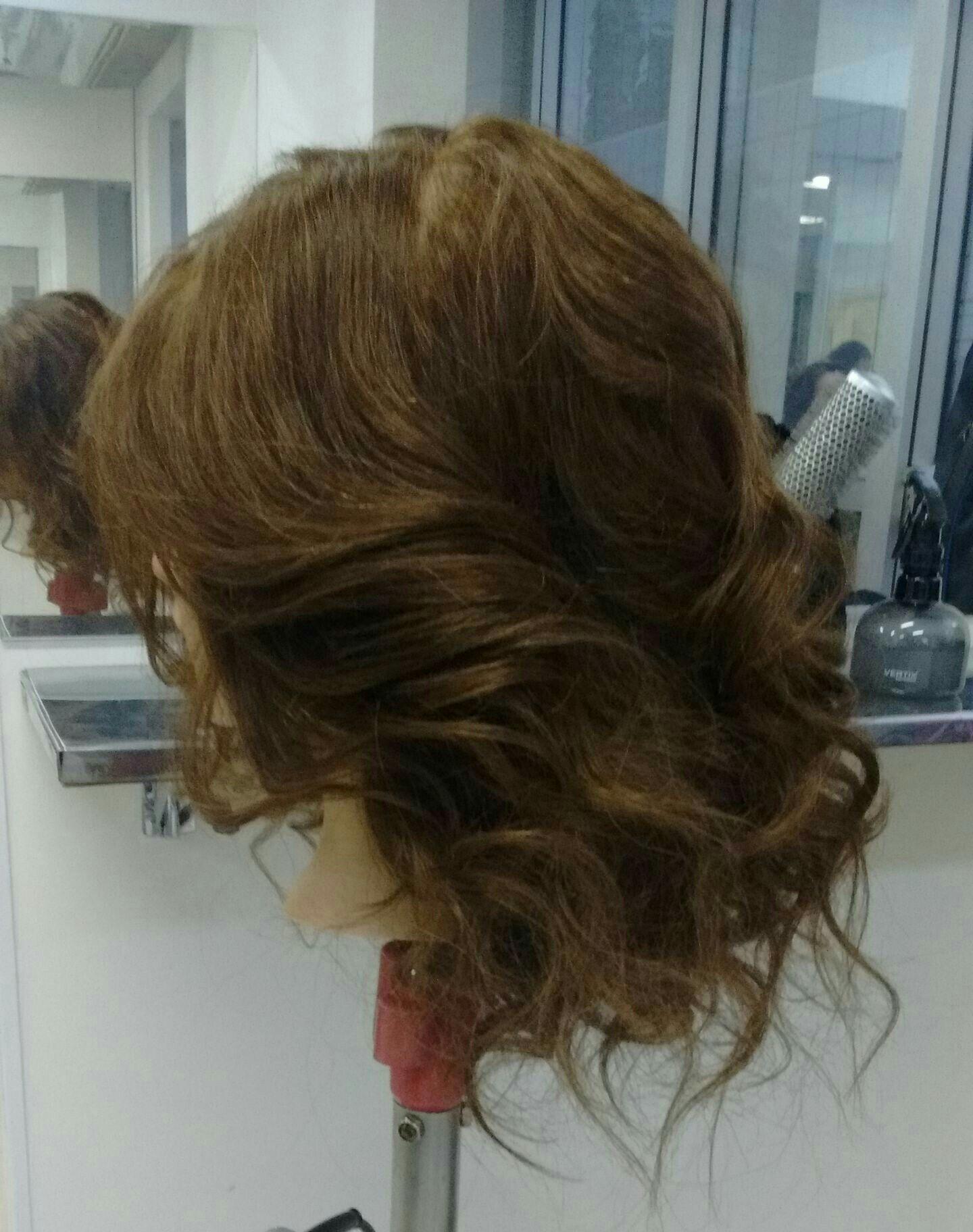 Escova Cacheada ! 😍 cabelo auxiliar cabeleireiro(a)