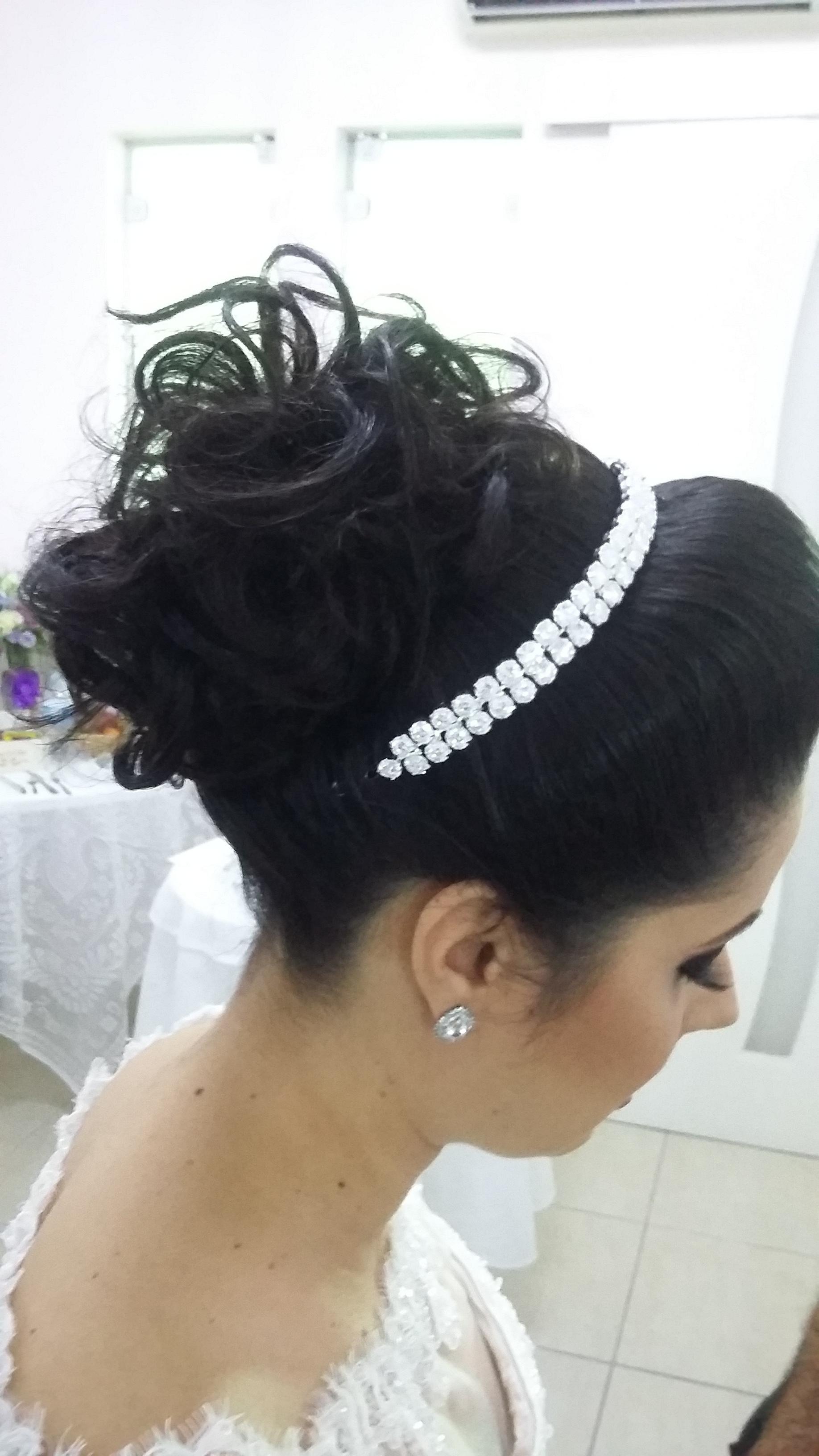 #diadanoiva com sandra cabelo cabeleireiro(a)