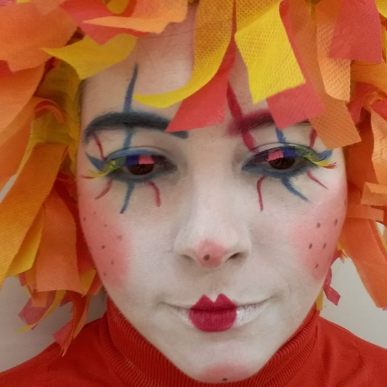 #maquiagem artística  Sandra Studio Kayzen  maquiagem cabeleireiro(a)