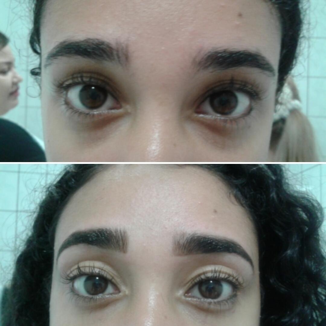 Design de sobrancelha com henna outros designer de sobrancelhas estudante (esteticista)