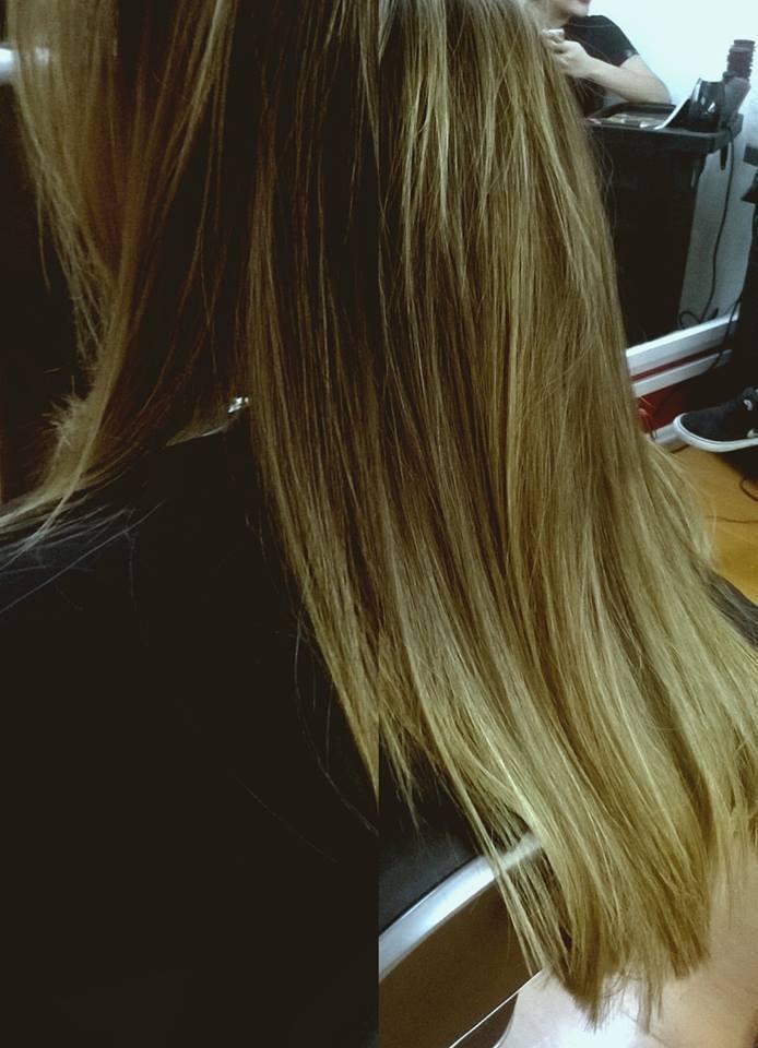 Correção de cor com mechas e tonalização.   cabelo cabeleireiro(a) maquiador(a) barbeiro(a)