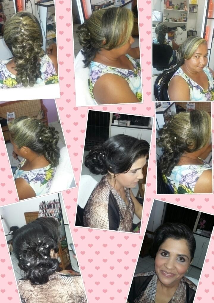 UM TRABALHO FEITO COM AMOR   cabelo cabeleireiro(a)