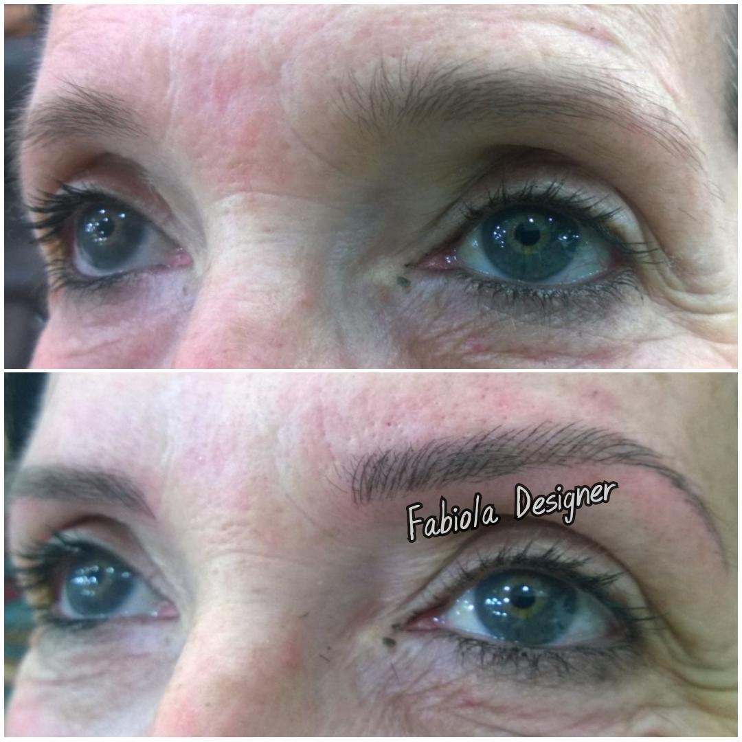 Microblading, mais forma e definição para sobrancelhas! outros micropigmentador(a) designer de sobrancelhas depilador(a)