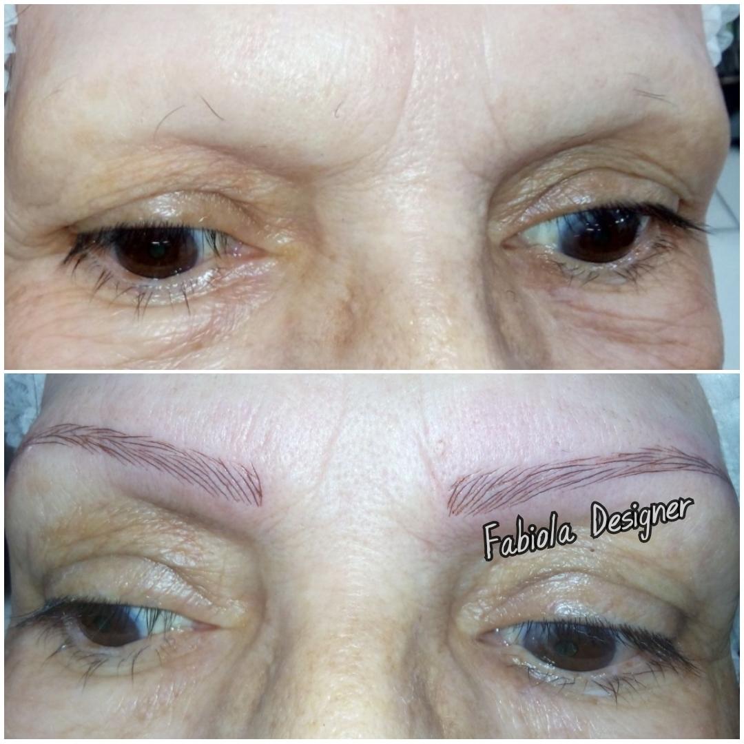 Microblading, reconstrução total das sobrancelhas!  outros micropigmentador(a) designer de sobrancelhas depilador(a)