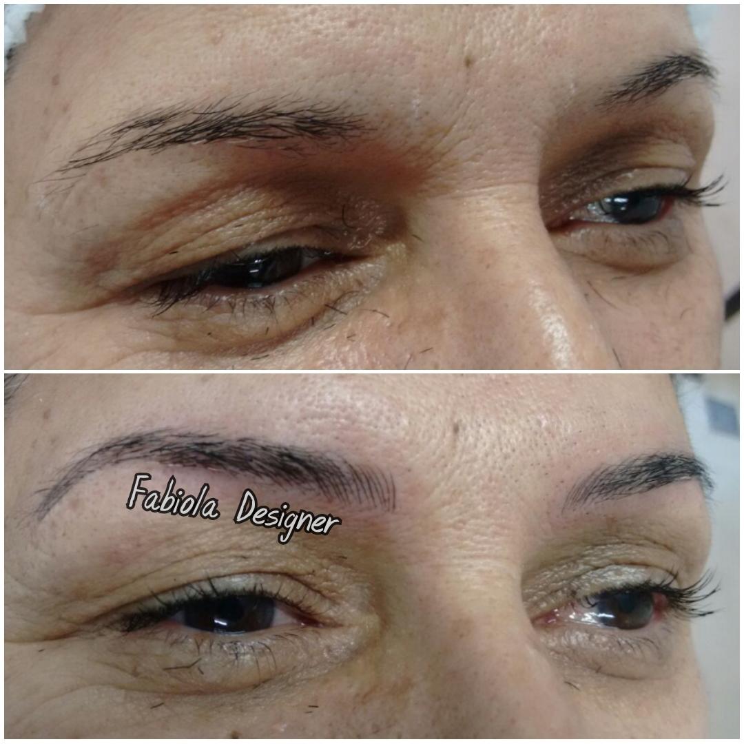 Microblading, sobrancelhas com definição e aparência natural! outros micropigmentador(a) designer de sobrancelhas depilador(a)