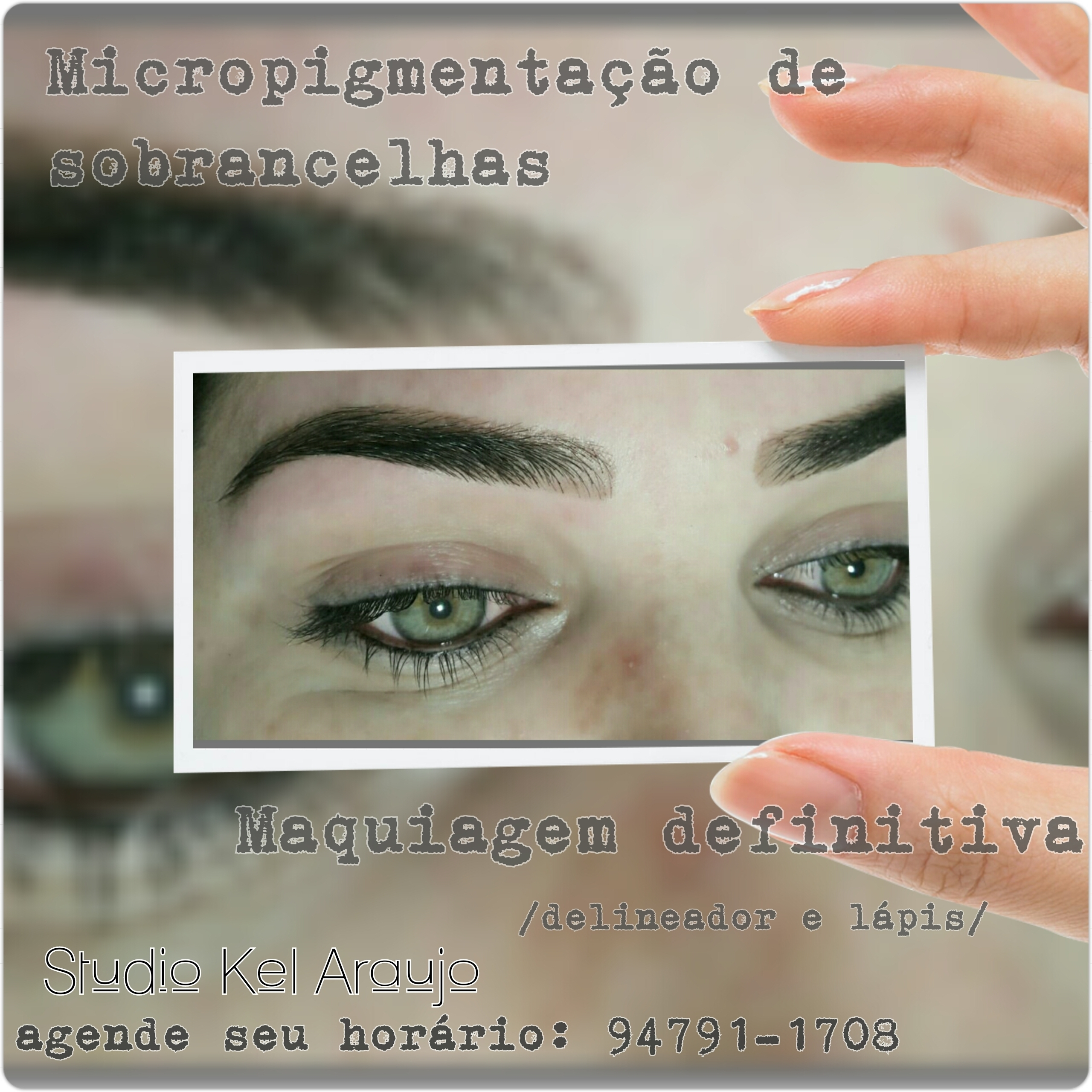 Micropigmentação de sobrancelhas, maquiagem definitiva olhos e boca, alongamento de cílios ( não foi feito alongamento na modelo da foto) outros micropigmentador(a) designer de sobrancelhas dermopigmentador(a) outros