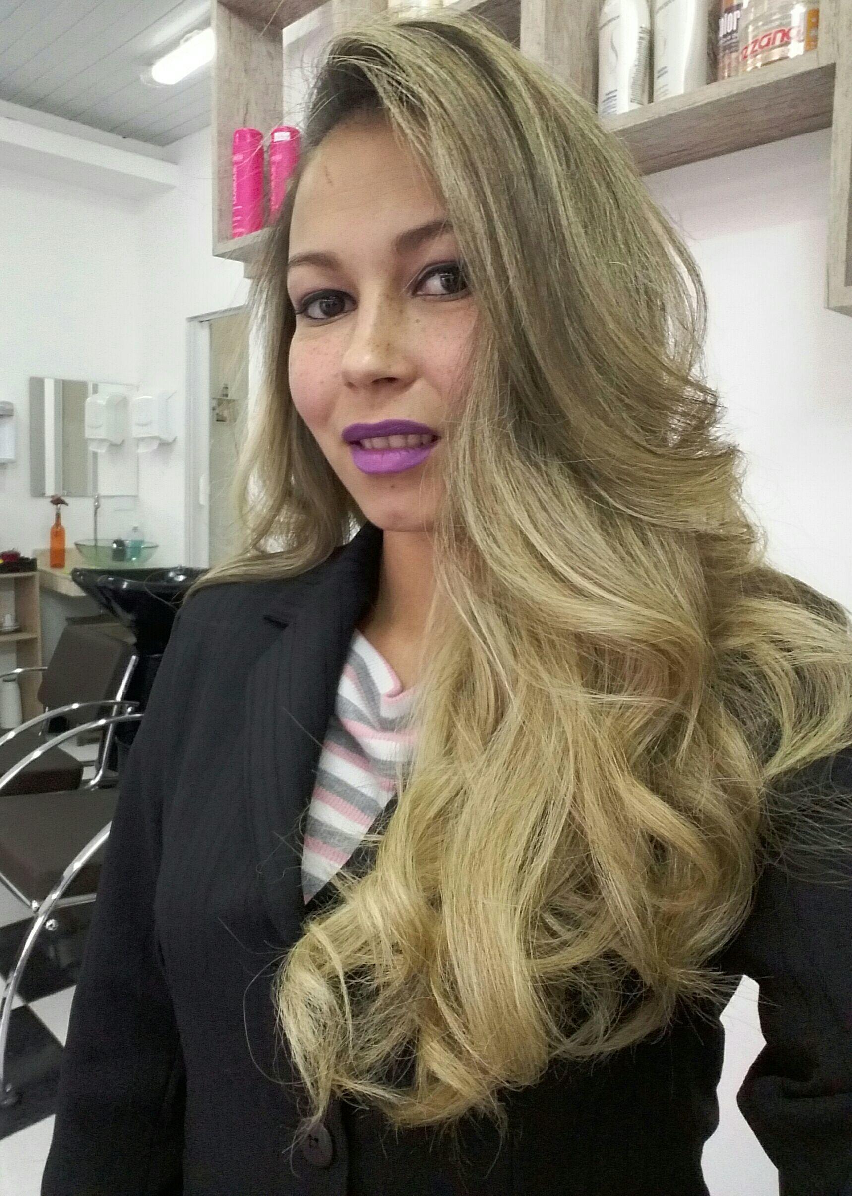 Cabelo escovado. ..Tudo de bom! cabelo cabeleireiro(a)