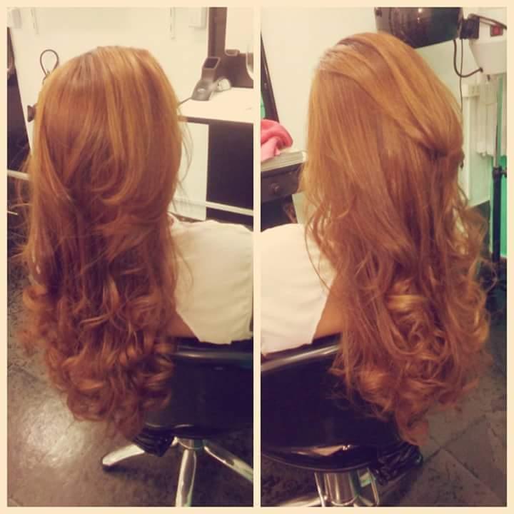 Color + progressiva. Finalização com cachos! #ahazoo cabelo cabeleireiro(a)