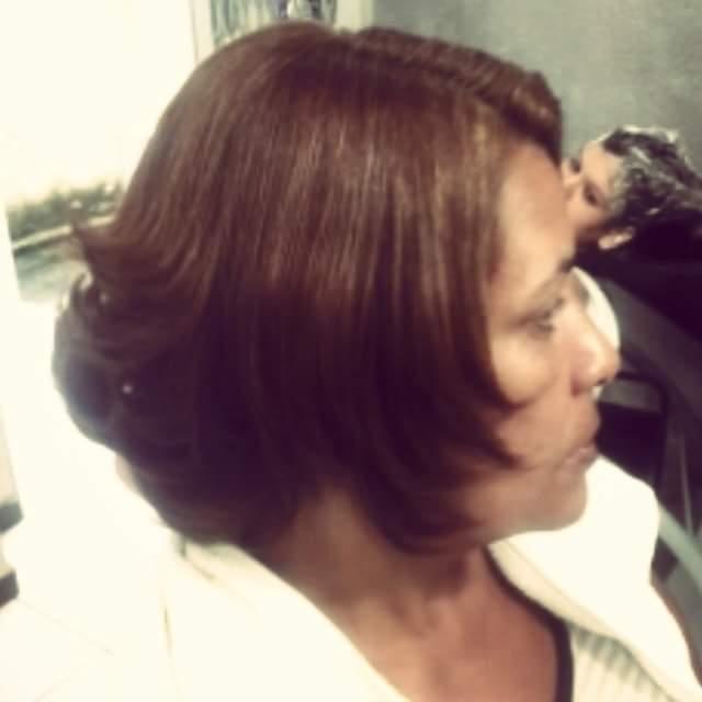 Corte repicado e desfiado pra nao ficar pesado. #curto #amo cabelo cabeleireiro(a)