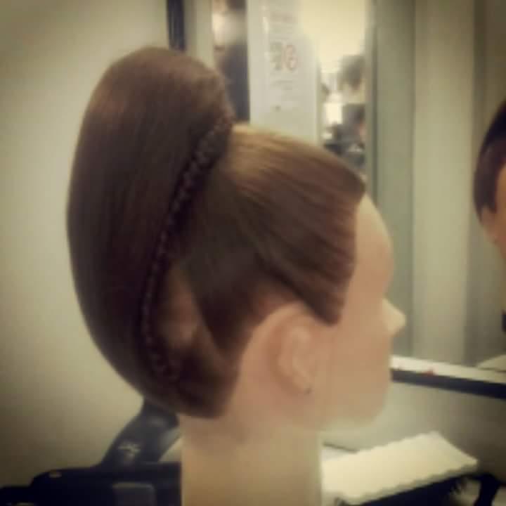 Coque para coroa #boneca #linda  cabelo cabeleireiro(a)