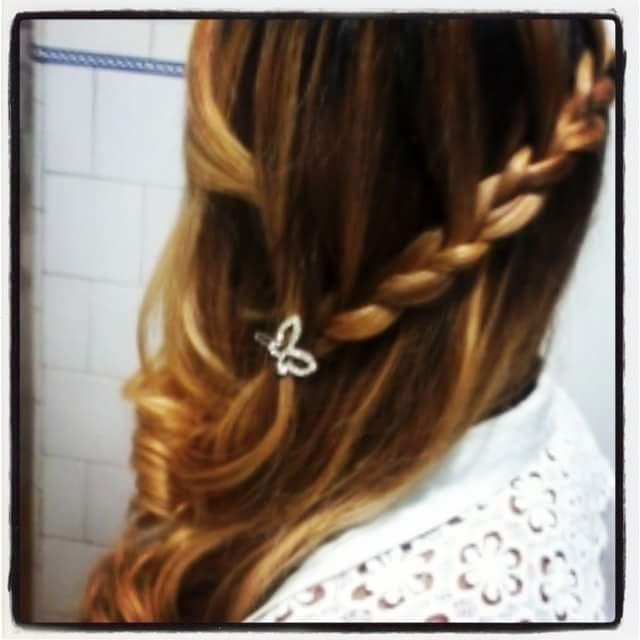 Simples tbm é chic #embutida #trança cabelo cabeleireiro(a)