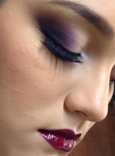 #sombramarçala maquiagem maquiador(a) cabeleireiro(a)