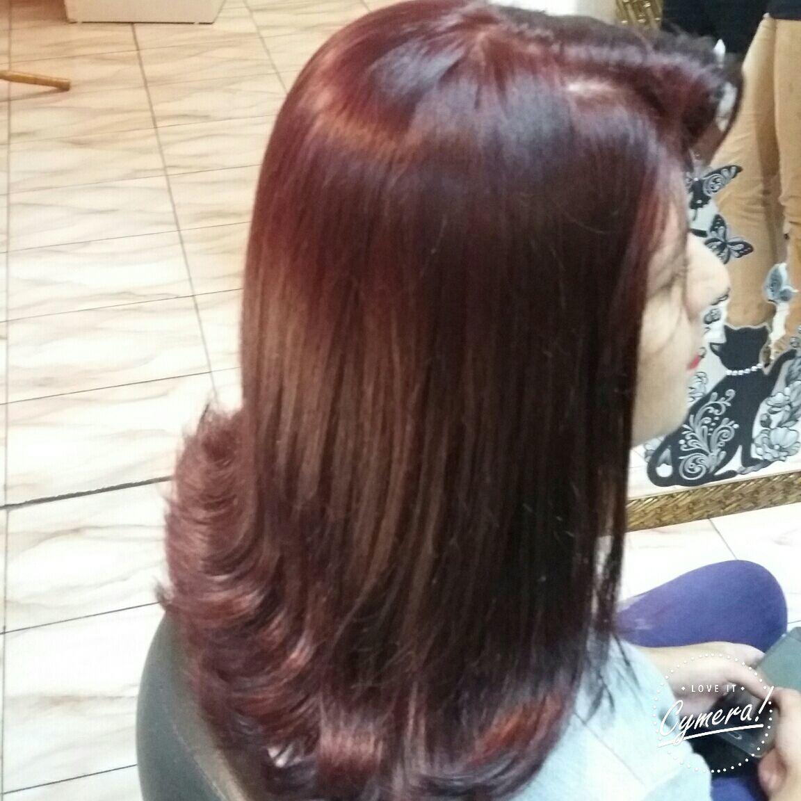 Cor 666+5,7 corte cabelo