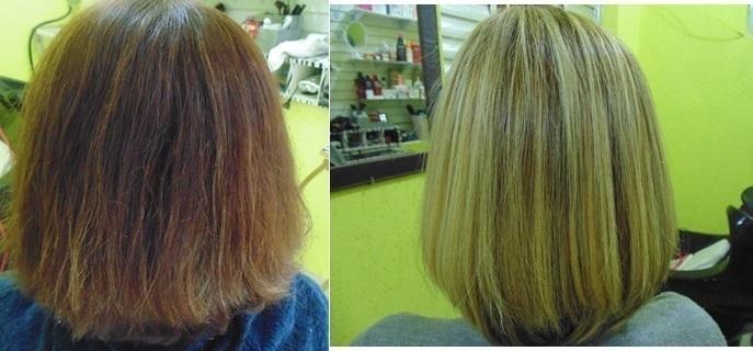 correção de cor,luzes pérola,reconstrução e hidratação. cabelo cabeleireiro(a) estudante (cabeleireiro) auxiliar cabeleireiro(a)