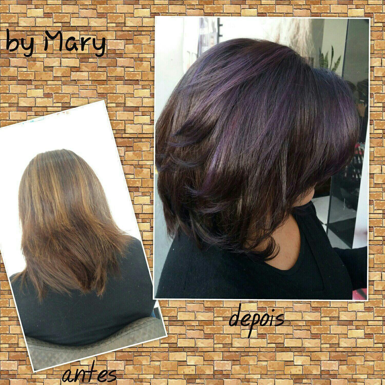 Pra quem curte um violeta... cabelo cabeleireiro(a)