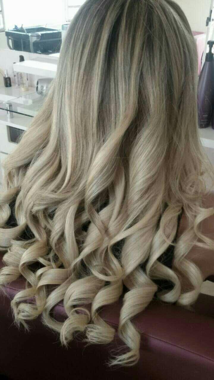 Cabelos maravilhoso loiro bege cabelo cabeleireiro(a)