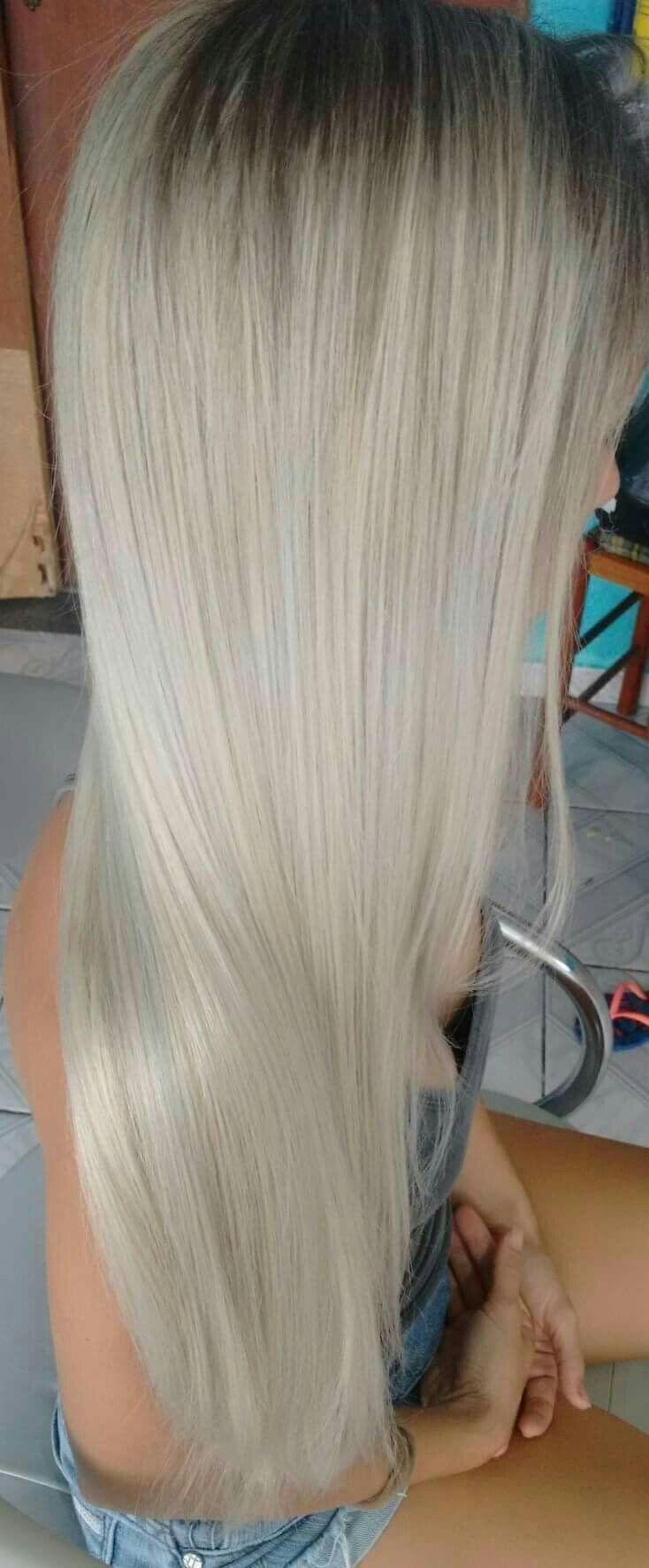 Correção total, cabelo super manchado de coloração preta ocaciosano por acidentes em sua residência rs. cabelo cabeleireiro(a)