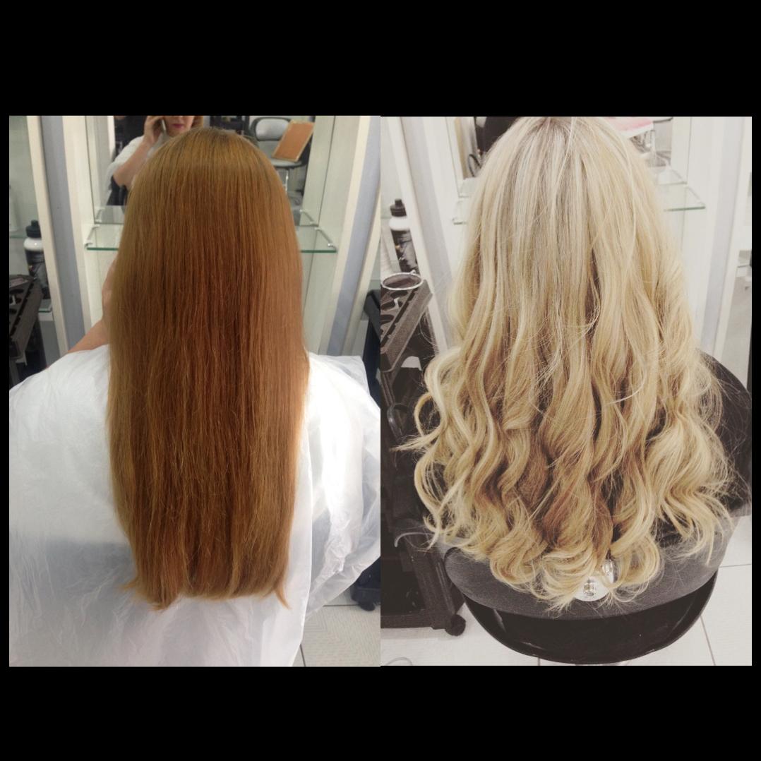 Do ruivo ao loiro!! 🙌🏼 cabelo cabeleireiro(a)