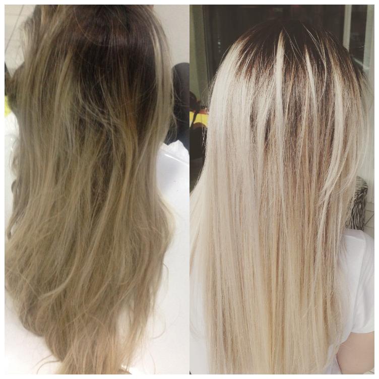 Detox e matização!! 😵 cabelo cabeleireiro(a)