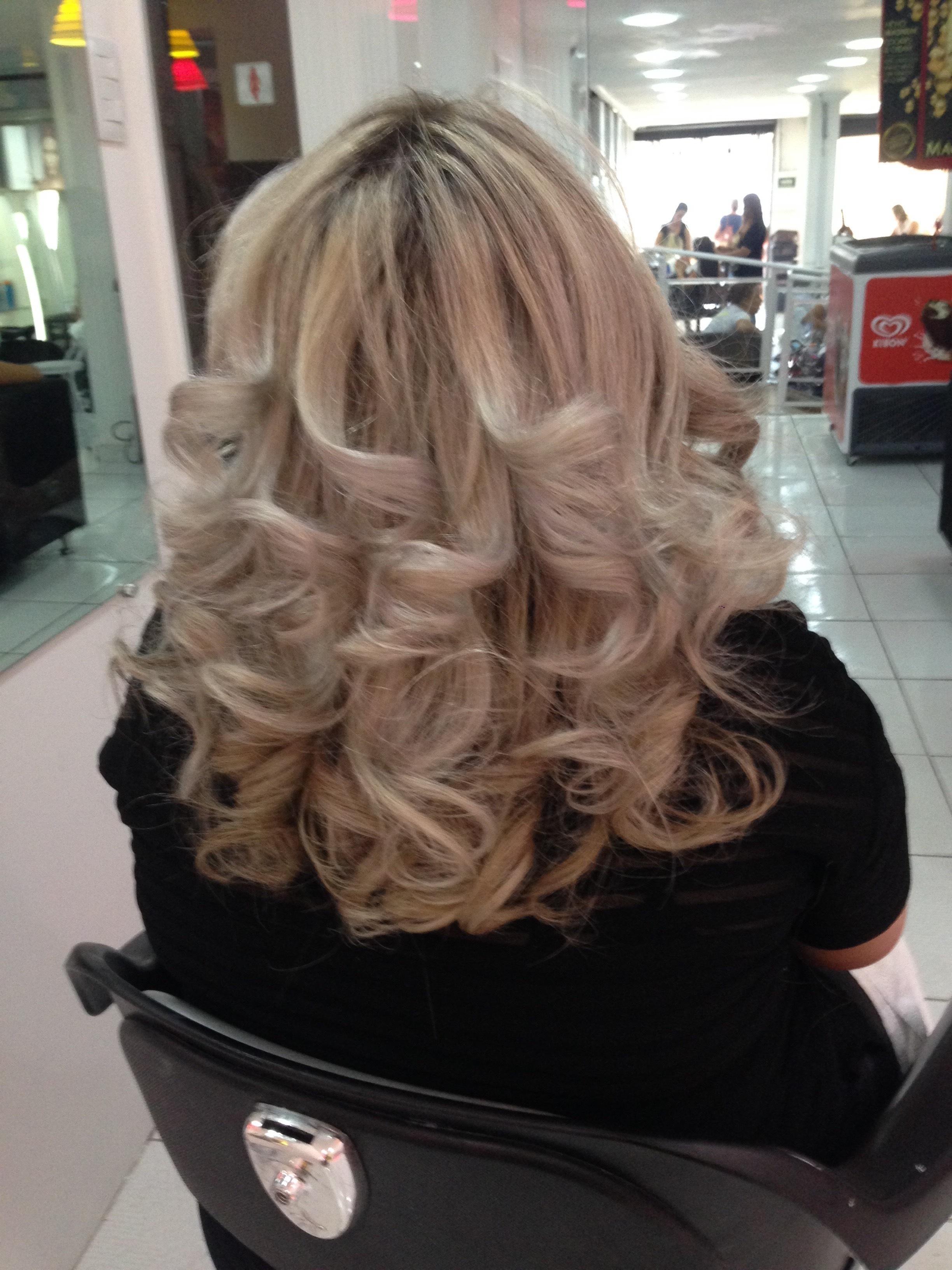 Escova super modelada 😍 cabelo cabeleireiro(a)