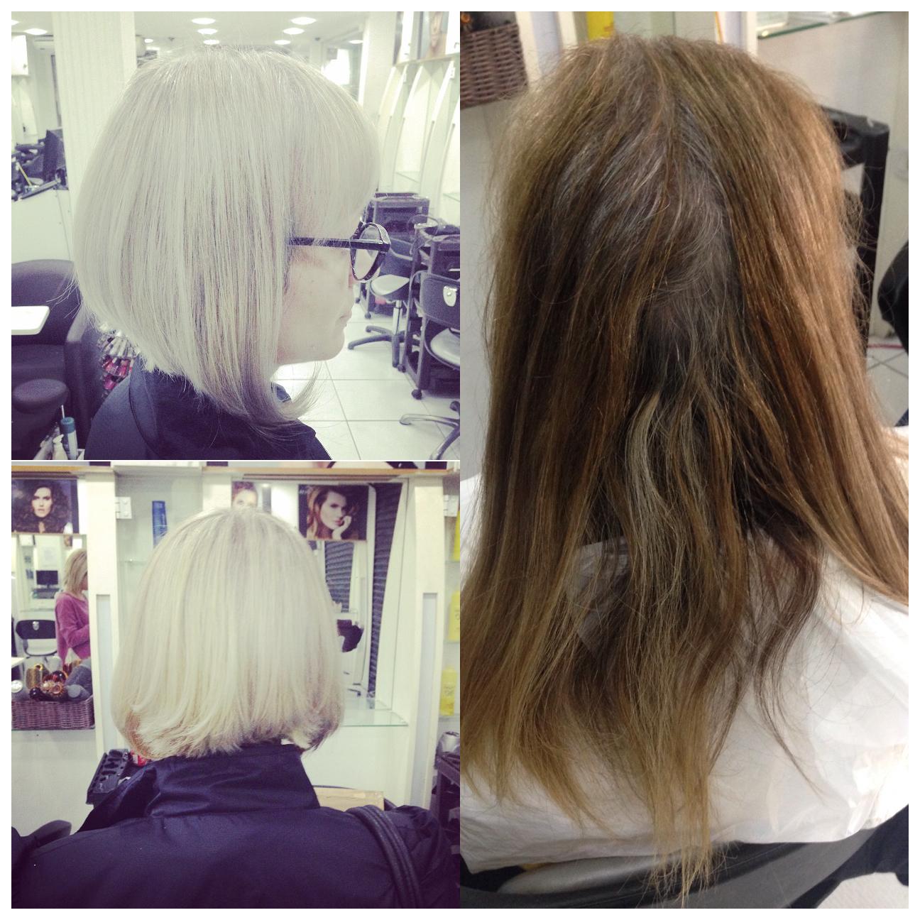 Luzes e corte 💁🏼✂️ cabelo cabeleireiro(a)