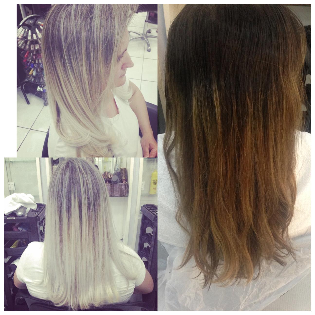 Limpando a cor! 😝 cabelo cabeleireiro(a)