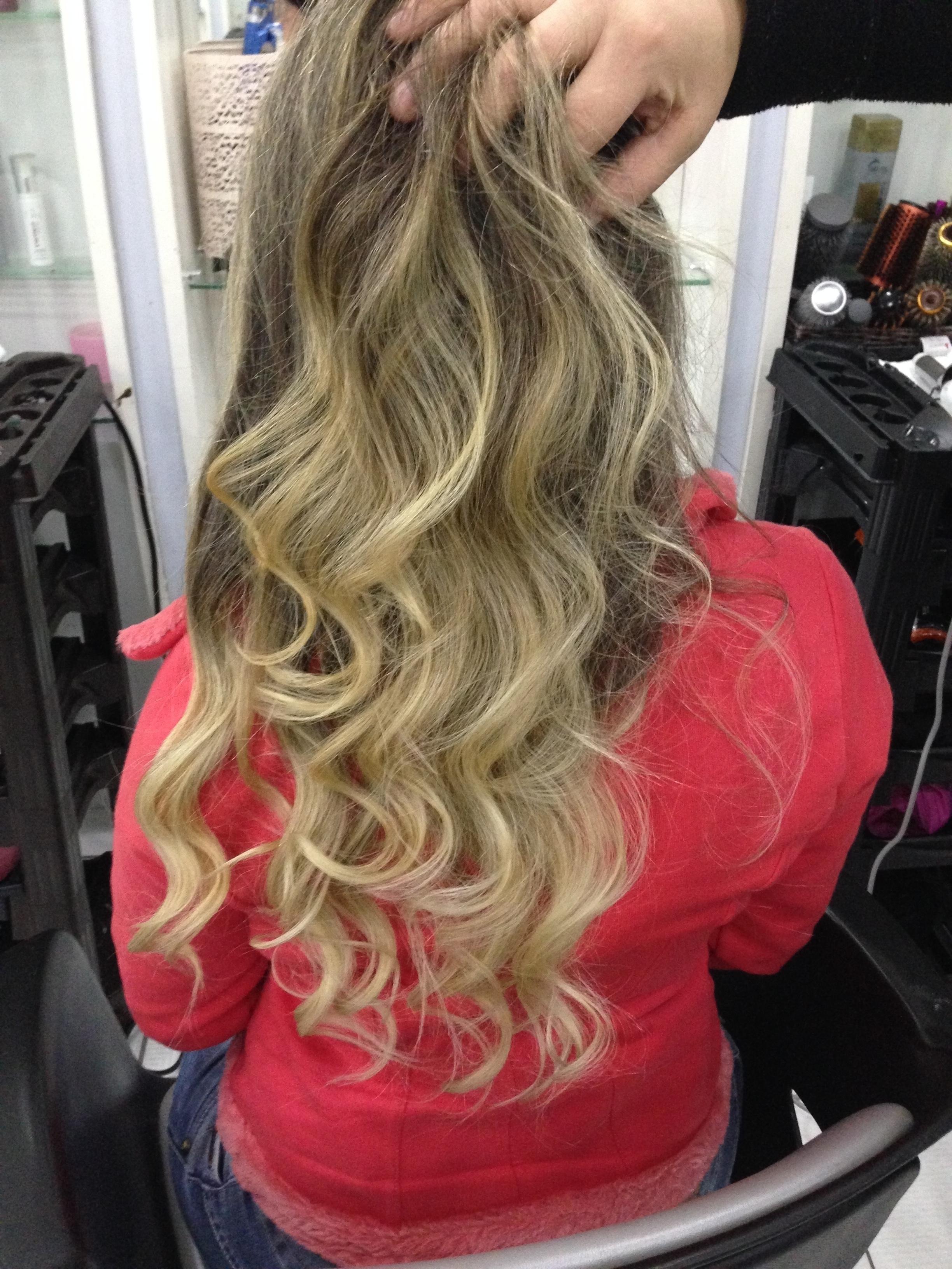 Ombré Hair 💗💗 cabelo cabeleireiro(a)